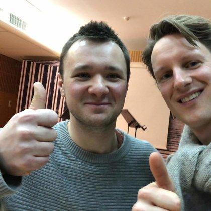 with Sebastian Stevenson