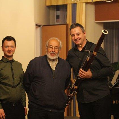 with prof. Zygmunt Tlatlik and Mr. Wojciech Front