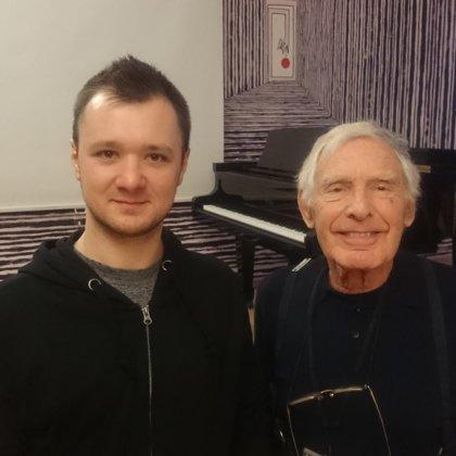 with Prof. Roger Birnstingl